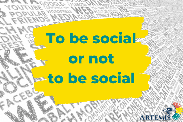 to be social or not to be social