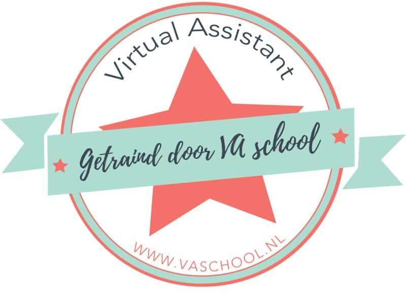 Certificaat Va School Artemis Virtual Assistant